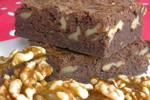 Brownie C Cocina | Brownies De Chocolate Con Nueces Receta De Cocina