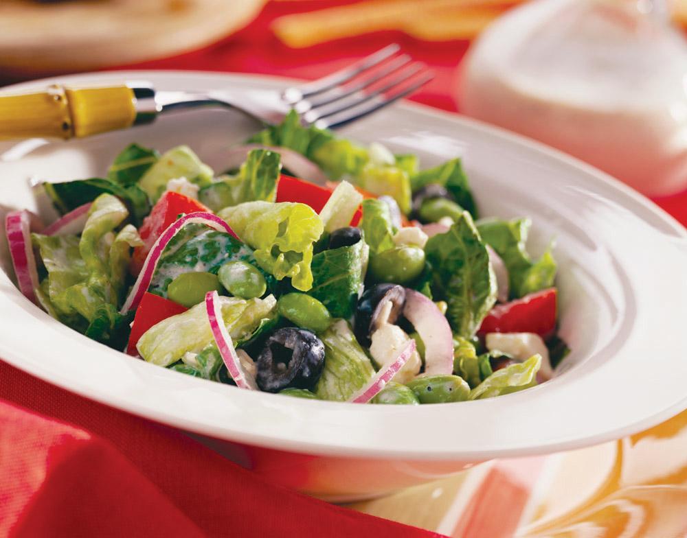 Ensalada griega receta de cocina - Ensaladas gourmet faciles ...