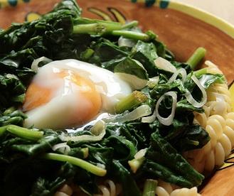 espinacas-con-huevo