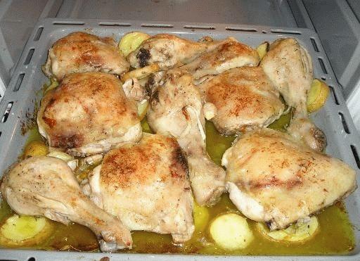 pollo al horno receta de cocina