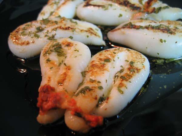 Sepia a la plancha receta de cocina - Cocinar a la plancha ...