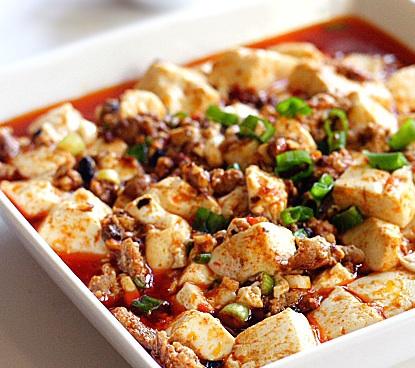 Tofu salteado con vegetales
