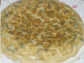 tortilla de habas