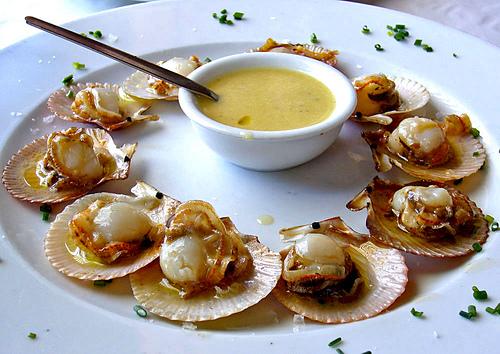 Zamburi as a la plancha receta de cocina - Salsa para ternera a la plancha ...
