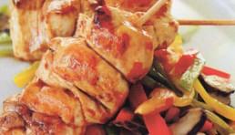 brochetas-de-pollo-teriyaki-con-wok-de-verduras