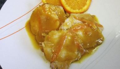 lomo a la naranja al horno