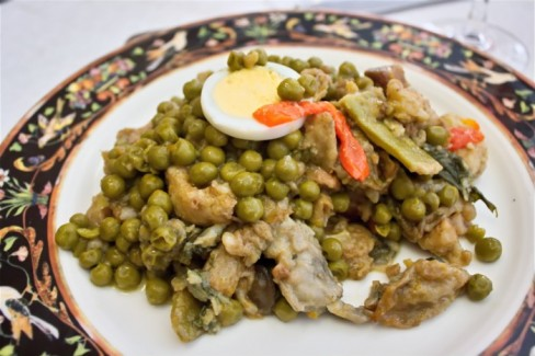 Menestra de verduras palentina receta de cocina - Como preparar menestra de verduras ...