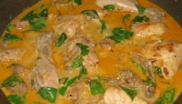 muslitos de pollo al coco