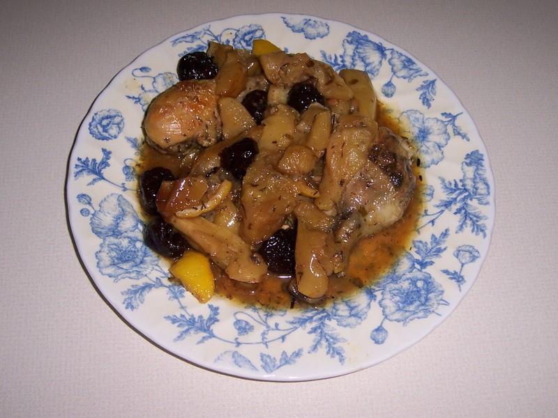 Muslitos de pollo dulz n receta de cocina - Muslitos de pollo ...