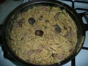 Cocinando Setas | Tallarines Con Setas Receta De Cocina