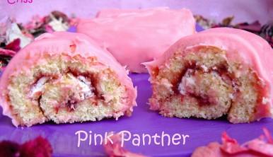 pastelitos pantera rosa