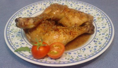 Pollo con refresco de cola