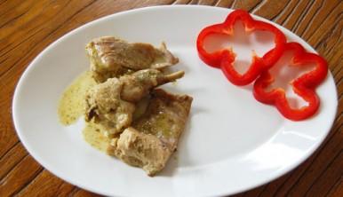 conejo-al-cilantro