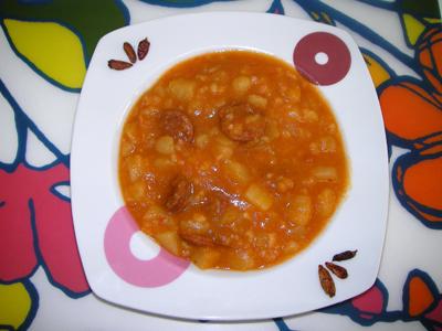 Patatas a la riojana en olla r pida receta de cocina - Patatas en olla rapida ...