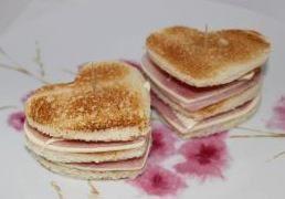 Sandwich de San Valentín