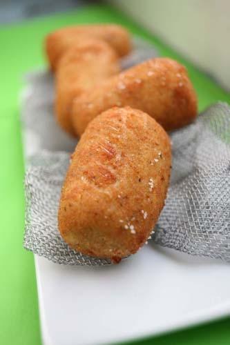 receta de Croquetas de pollo