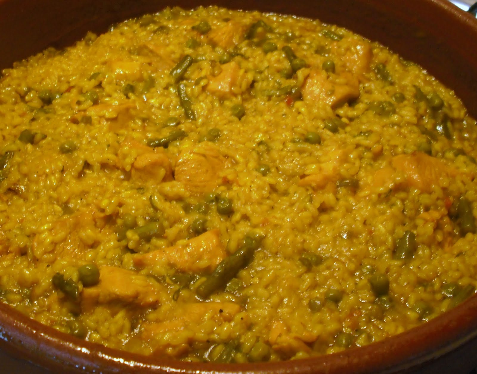 receta de Arroz a la cazuela con pollo