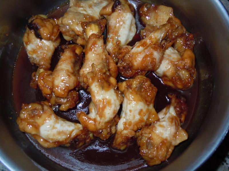 receta de Chupa chups de pollo con miel