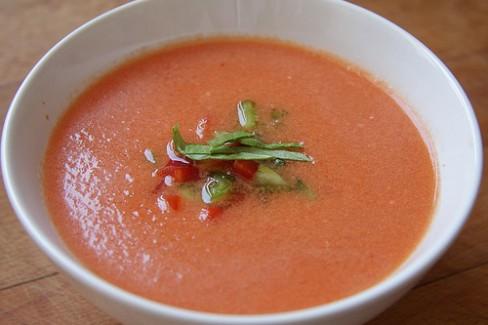 receta de gazpacho sin pepino