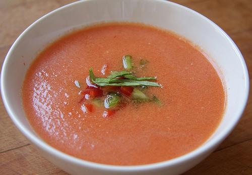 gazpacho sin pepino
