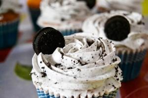 cupcakes de oreo caseras