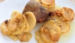 confit-de-pato-con-patatas