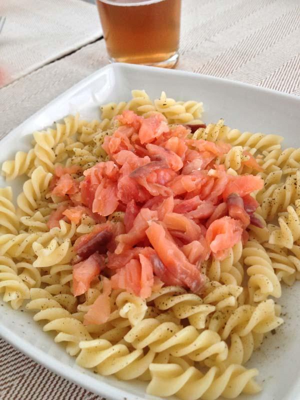 ensalada de pasta: