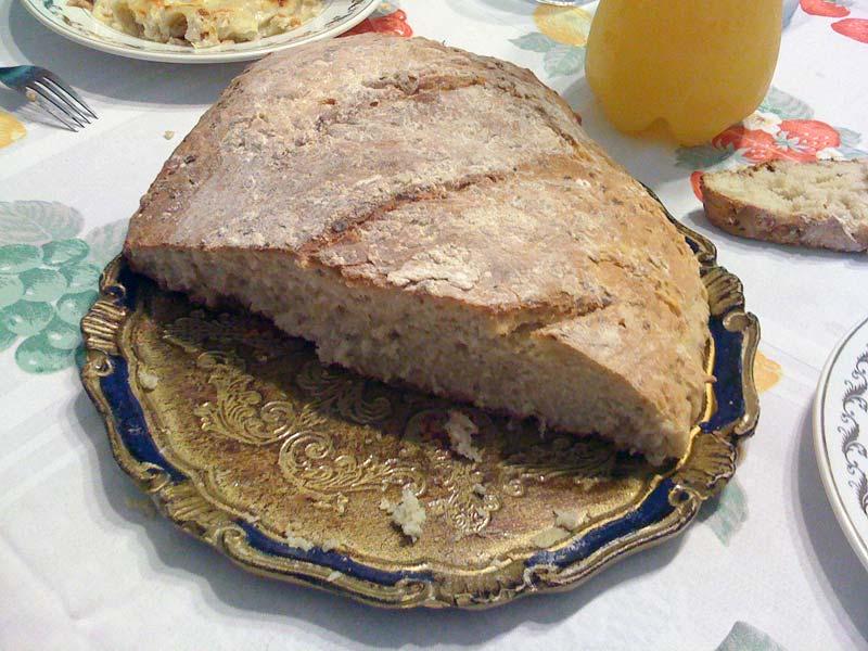 Pan de cebolla