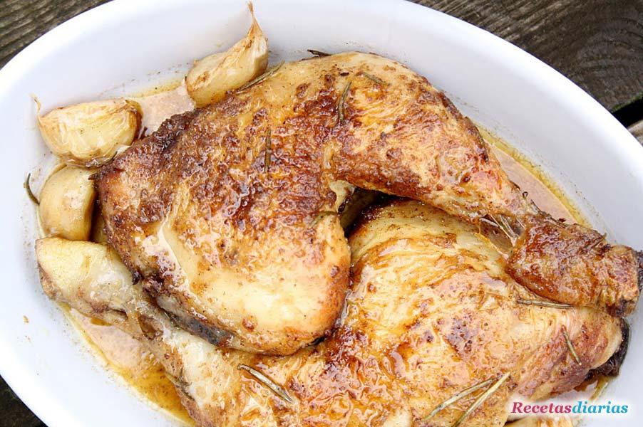Recetas con pollo rustido