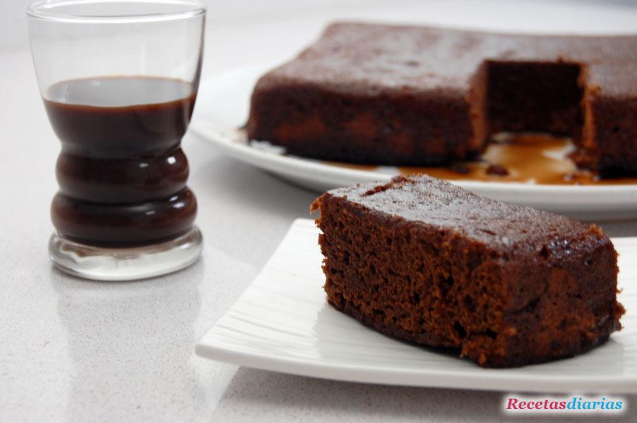 Bizcocho de chocolate al chocolat royal de marie brizard for Bizcocho para dieta adelgazar